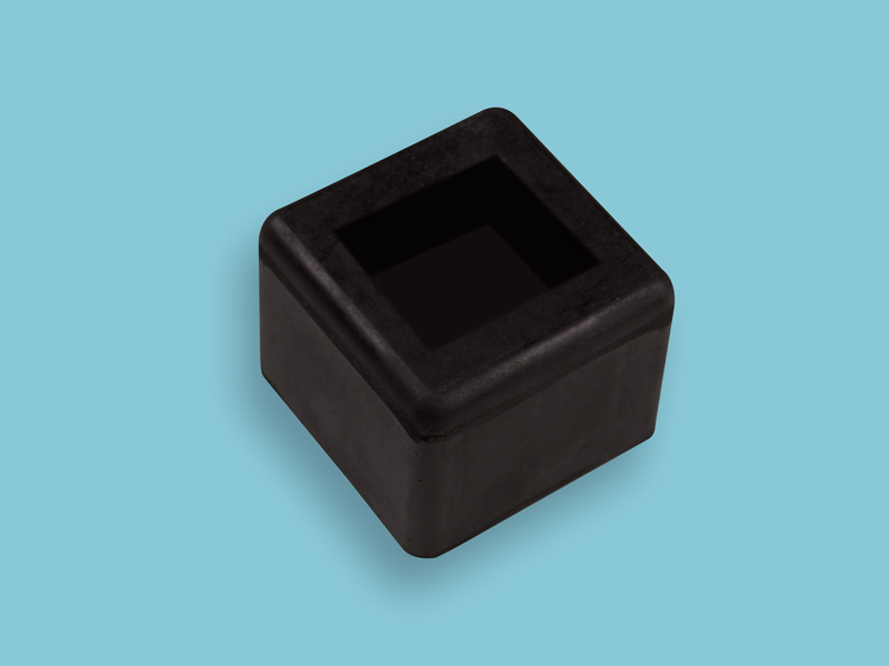 Mokerdop ATLAS 2000 gram rubber, maat 45 x 45 mm.